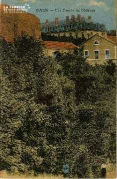 cl 02 039 Caen les fossés du Château