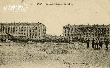 cl 02 045 Caen  Nouvelles Casernes d'Artillerie