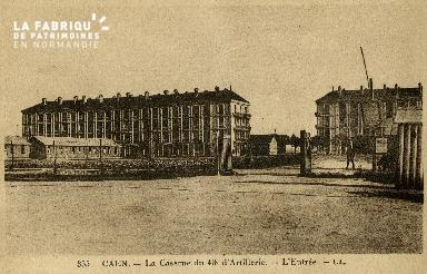 cl 02 048 La caserne du 43ème d'Artillerie - l'Entrée
