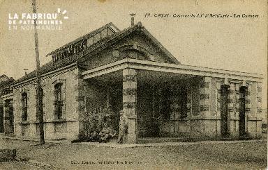 cl 02 049 La caserne du 43ème d'Artillerie - Les Cuisines