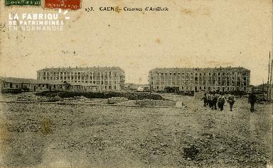 cl 02 051 Caen La caserne d'Artillerie
