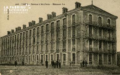 cl 02 052 Caen La caserne d'Artillerie- Batiment Est