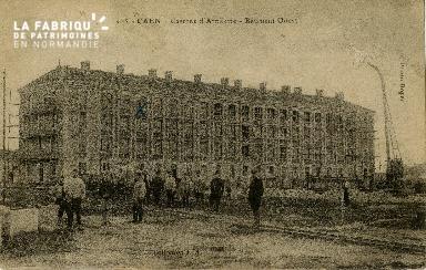 cl 02 053 Caen- Caserne d'Artillerie- Batiment Ouest