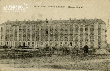 cl 02 054 Caen La caserne d'Artillerie- Batiment central