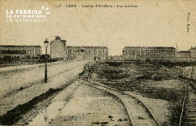 cl 02 056 Caen La caserne d'Artillerie- vue Générale