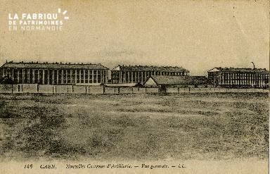 cl 02 057 Caen Nouvelle caserne d'Artillerie