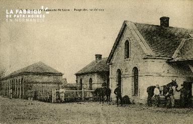 La forge des maréchaux de la caserne de Remonte de Caen