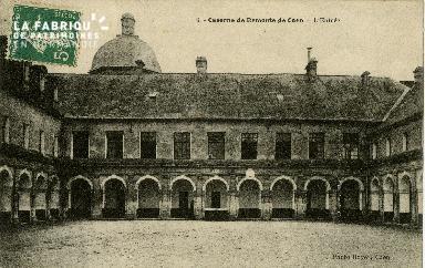 L'entrée de la caserne de Remonte de Caen
