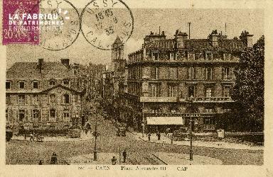 cl 02 071 Caen - La Place Alexandre III- CAP