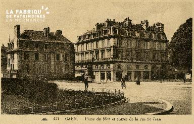cl 02 072 Caen - Place du 36ème et entrée de la rue St-Jean