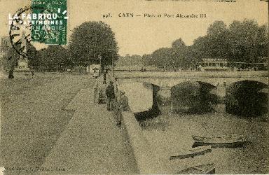 cl 02 073 Caen - La Place Alexandre III