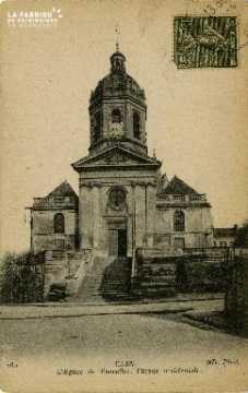 cl 02 076 Caen- l'Eglise de Vaucelles, Façade Occidentale