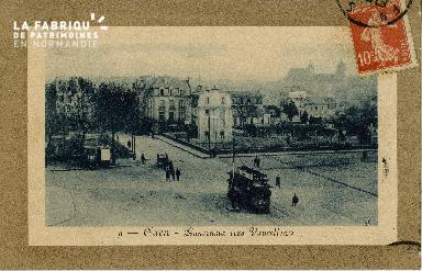 cl 02 077 Caen panorama vers Vaucelles