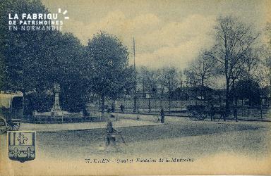 cl 02 080 Caen- Quai et Fontaine de la Mutualité