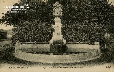 cl 02 083 Caen- Fontaine de la Mutualité