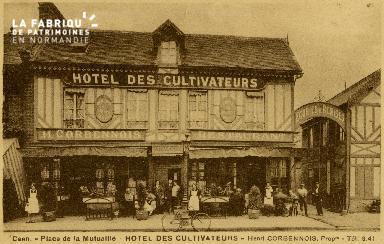 cl 02 085 Caen- place de la Mutualité - Hotel des Cultivateurs