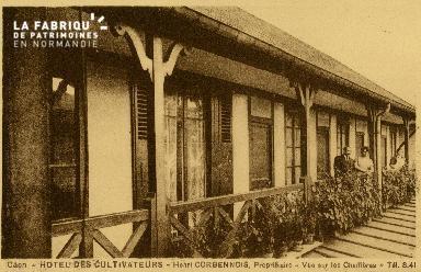 cl 02 086 Caen - Hotel des Cultivateurs