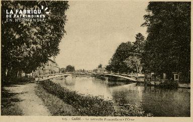 cl 02 095 Caen La Nouvelle Passerelle sur l'Orne