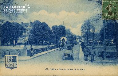 cl 02 103 Caen- Pont de la Rue de la Gare