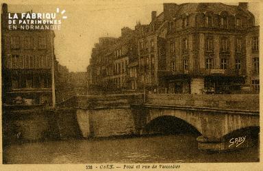 cl 02 106 Caen- pont et rue de Vaucelles