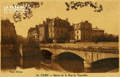 cl 02 108 Caen- Entrée de la Rue de Vaucelles