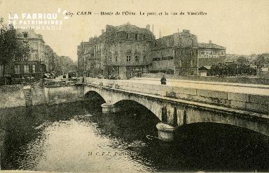 cl 02 109 Caen- Bord de l'Orne, lepont de Vaucelles