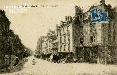cl 02 110 Caen-Entrée rue de Vaucelles