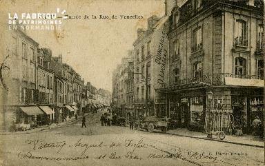 cl 02 112 Caen- Entrée de la rue de Vaucelles