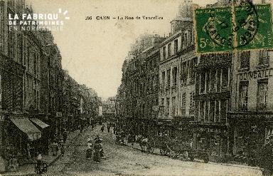 cl 02 113 Caen - La rue de Vaucelles