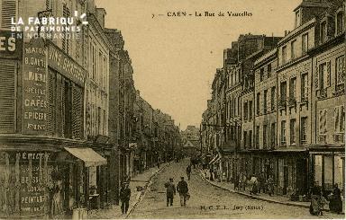 cl 02 114 Caen - La rue de Vaucelles
