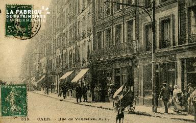 cl 02 115 Caen - La rue de Vaucelles