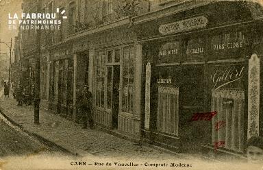 cl 02 116 Caen - La rue de Vaucelles- Comptoir Moderne