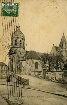 cl 02 121 Caen - Eglise Saint Michel de Vaucelles