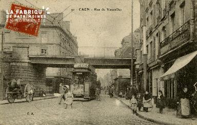 cl 02 137 Caen - rue de Vaucelles