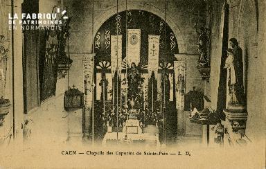 cl 02 139 Caen- Chapelle des Capucines de St-Paix