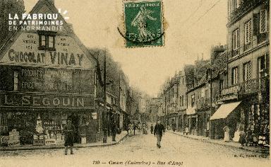 cl 02 151 Caen - Rue d'Auge