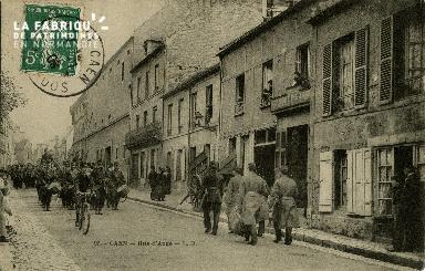 cl 02 154 Caen - Rue d'Auge