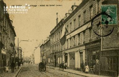 cl 02 158 Caen - Rue d'Auge- Hotel du Soleil Levant