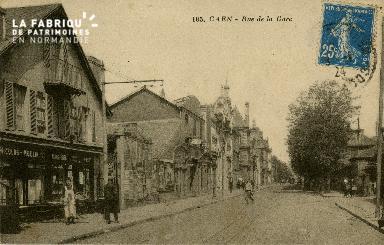 cl 02 161 Caen - Rue de la Gare