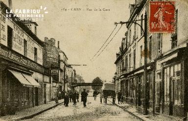 cl 02 162 Caen - Rue de la Gare