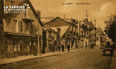 cl 02 163 Caen - Rue de la Gare
