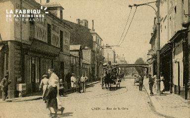 cl 02 164 Caen - Rue de la Gare