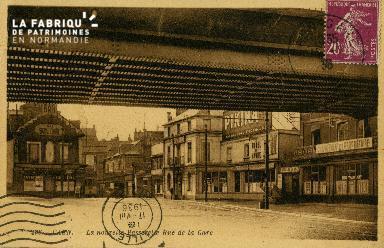 cl 02 165  La nouvelle passerelle - Rue de la Gare