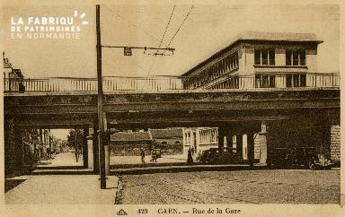 cl 02 167 Caen - Rue de la Gare