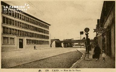cl 02 168 Caen - Rue de la Gare