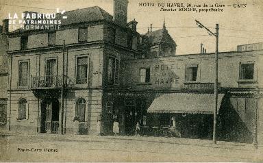 cl 02 170 Hotel du Havre, 36 rue de la Gare Caen
