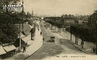 cl 02 175 Caen - Avenue de la Gare