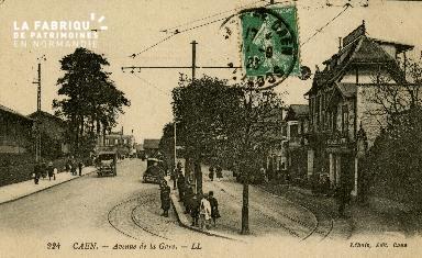cl 02 176 Caen - Avenue de la Gare