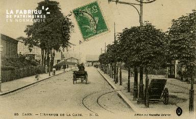 cl 02 177 Caen - Avenue de la Gare