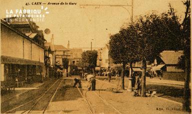 cl 02 178  Caen - Avenue de la Gare